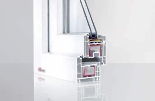REHAU Euro Design 70 - profil cu 5 camere