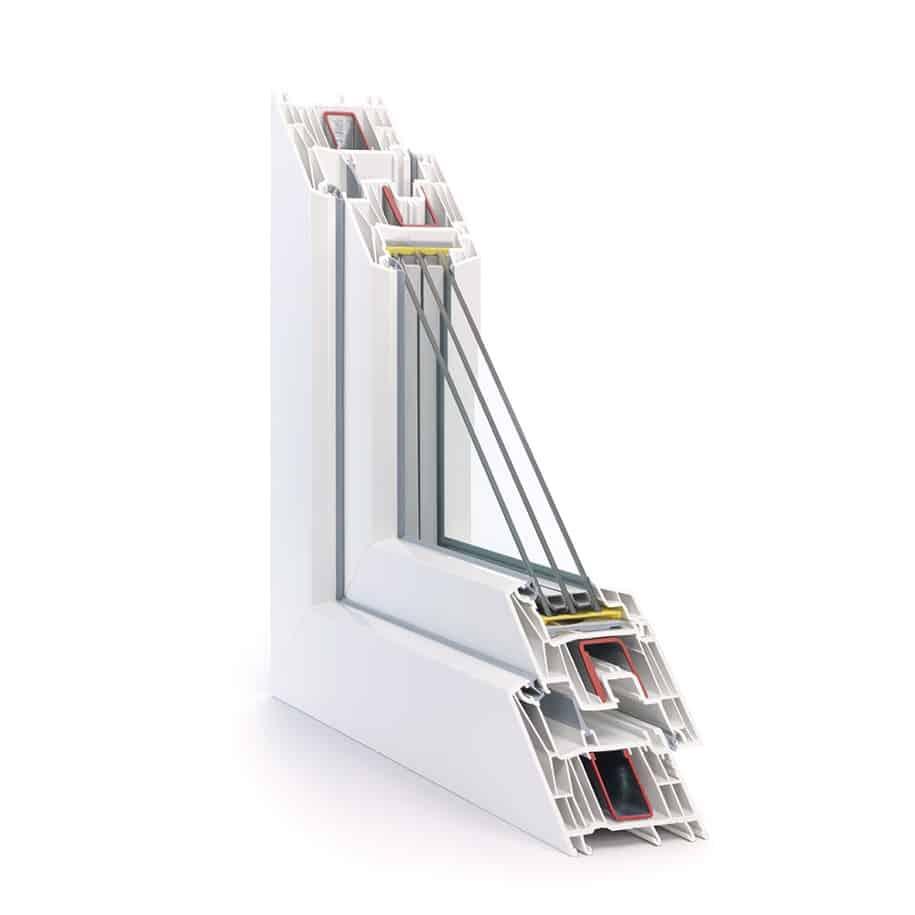 REHAU Synego - profil cu 6 camere